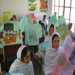Poster Competition at District Zhob